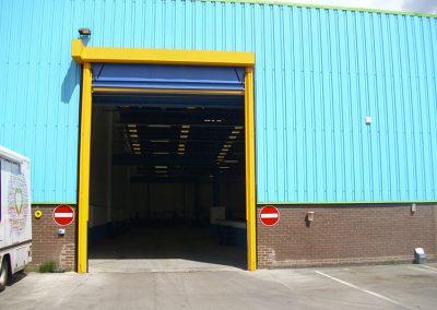 jjh one depot wigan roller shutter after pic